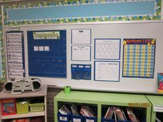 New Adventures in First Grade: Where it Happens Wednesday! High School Classroom, Classroom Setup, Classroom Design, Classroom Organization, Classroom Management, Organizing, Organization Ideas, Focus Boards, Interactive Bulletin Boards