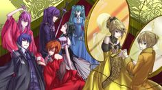 Vocaloid group in the seven deadly sins