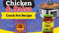 Many complain when wanting to eat right, that healthy food is too expensive and they don't have enough time to prepare it, here's the fix. read more. Slow Cooker Salsa, Slow Cooker Chicken, Slow Cooker Recipes, Crockpot Recipes, Chicken Recipes, 3 Ingredient Orange Chicken Recipe, Salsa Chicken, Slow Cooking, Food Prep
