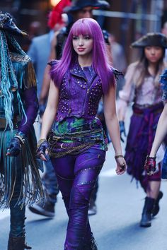 Dove Cameron as mal in decendants2