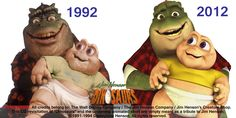Dinosaurs TV Series | The Muppet Mindset: Dinosaus Animated Tribute Preview