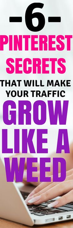 These amazing tips will show you how to get page views from Pinterest to help grow you income and blog. Learn how to use social media to get traffic to your blog with these simple Pinterest hacks that can grow your blog or business