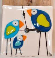 Like the birds. Not sure about it being a clock? Good artwork though!