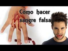 Cómo hacer sangre falsa casera - ESPECIAL Halloween (Experimentos Caseros) - YouTube