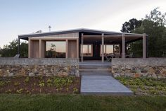 The Plinth House by Luke Stanley Architects - Langdons Hill VIC 3363, Australia