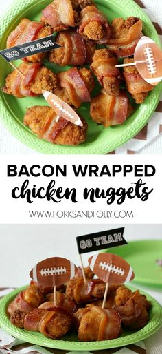 Bacon Wrapped Chicke
