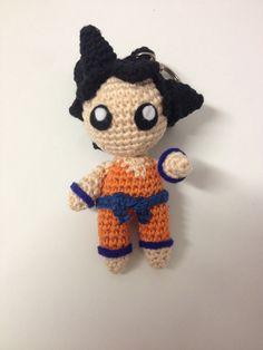 Crochet Dragon, Crochet Dolls, Dragon Ball Z, Hello Kitty, Diy And Crafts, Son Goku, Knitting, Sewing, Handmade