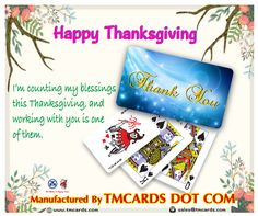 Our fine-tuned processes and printing capabilities come from over 45 years of experience making custom playing cards and personalized playing cards. Personalized Playing Cards, Custom Playing Cards, He Day, Happy Thanksgiving, Printing Services, Customized Gifts, Gifts For Him, Card Games, Create Yourself
