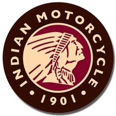 Indian Motorcycles 1901 Round Logo Sign is a brand new vintage tin sign made to look vintage, old, antique, retro. Purchase your vintage tin sign from the Vintage Sign Shack and save. Motorcycle Tips, Motorcycle Logo, Motorcycle Posters, Motorcycle Style, Indian Motors, Logos Retro, Retro Posters, Tin Signs, Metal Signs