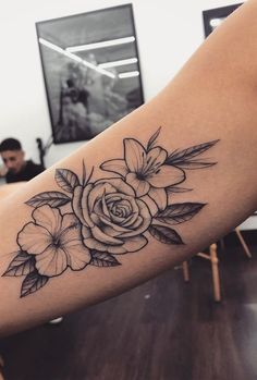 55 beautiful rose tattoo ideas - tattoo design for women. - 55 beautiful rose tattoo ideas – tattoo design for women. Pretty Tattoos, Cute Tattoos, Beautiful Tattoos, Beautiful Roses, Small Tattoos, Tattoos For Guys, Rose Tattoos For Women, Random Tattoos, Awesome Tattoos