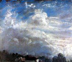 John Constable - Étude de nuages