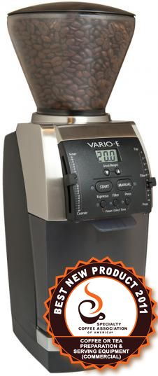 The Baratza Vario-W: the Baratza Vario, but incorporates in the weight based grinding technology. Vitrier Paris, Coffee World, Coffee Time, Coffee Shop, Coffee Maker, Blue Cafe, Electronic Scale, Coffee Business, Espresso Coffee