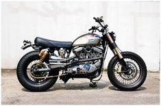 Harley Sportster Scrambler 1988 by Crazy Garage