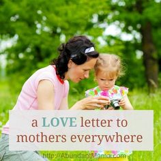 A love letter to mothers everywhere