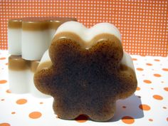 $4.00 Apricot and Freesia Goat's Milk Scrubby Soap