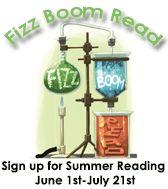 Fizz Boom Read Summer Reading
