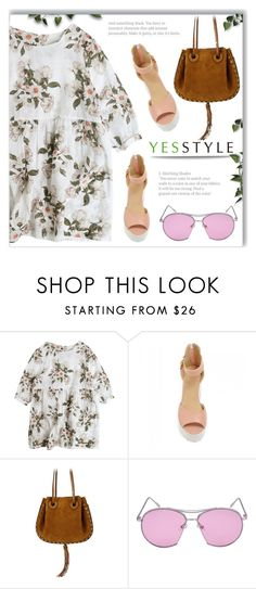 """""""YESSTYLE.com"""" by monmondefou ❤ liked on Polyvore featuring JY Shoes, party, anniversary, celebration and yesstyle"""
