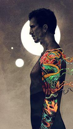 Francisco Randez illustration by Robbie Lawrence