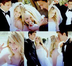 Cute wedding day photos.