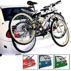 2 #bi#cycle universal carrier car rack bike #cycle fits most cars rear #mount,  View more on the LINK: http://www.zeppy.io/product/gb/2/201294620049/