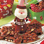 Holly-Jolly Almond Brittle Recipe   MyRecipes.com