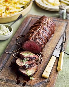 Roast beef and horseradish is a classic combination but this barbecued joint takes things to another level.