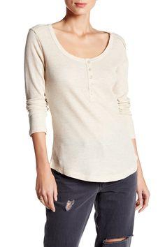 Sand Birch Waffle Knit Shirt