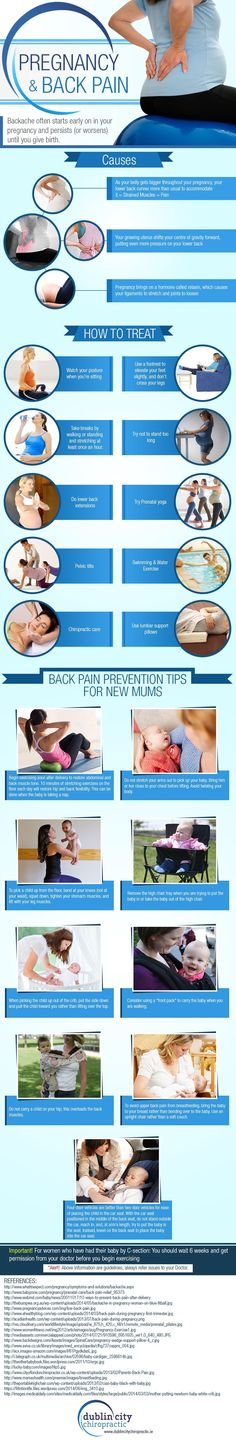 Pregnancy and back pain: causes, how to treat, and prevention tips