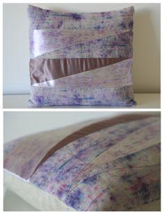 Geometric Purple Cushion www.emmajunedesigns.co.uk www.emmajunedesigns.blogspot.com