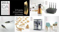 IDA - International Design Awards - 2013 Results.