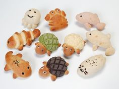 Kyoto Aquarium serving up cute breads...and tadpole soup?