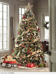 Most Beautiful Christmas Tree Decorations Ideas Celebrations