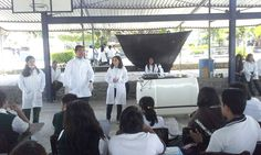 La actividad de estudiantes del #P10SantaRosa30 del #Cobaem_Morelos se realizó con el Laboratorio Portátil. #juventudcultayproductiva