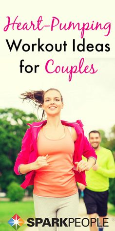 Workout Ideas for Couples. Try these workout ideas with your significant other tonight! | via @SparkPeople