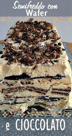 Gelato Ice Cream, Cooking Cake, Biscotti, Frozen Treats, Sweet Recipes, Cheesecake, Deserts, Food And Drink, Dessert Recipes