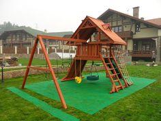 Playground Swing Set, Natural Playground, Patio, Backyard, Deco, Jungle Gym, 4 Kids, Woodworking, Venus