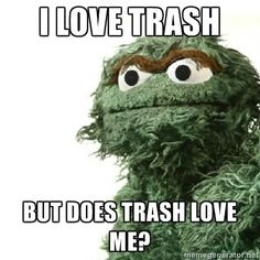 1430060394 moreover Vintage Sesame Street Photos From The Documentary I Am Big Bird in addition Tv On Dvd For 111009 Sunny Days On Sesame Street And Dawsons Creek likewise Bert And Ernie Memes as well Oscar The Grouch. on oscar grouch flashback