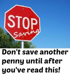 Stop #saving! Not having a vision for your savings goals is just as bad as not saving at all! pay off debt, debt free, #debt