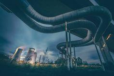 #longexposure #industrial #explore #alone #heritage #powerplant #power #500px #vsco #instagood #instadaily #from #ostrava #ostravacity #by #janjasiok