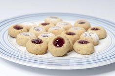 vánoční cukroví - husarské koláčky