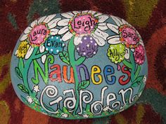 Jez4U Custom Hand painted Grandma Rock for Local Customer or whatever you want on it Painted special for you