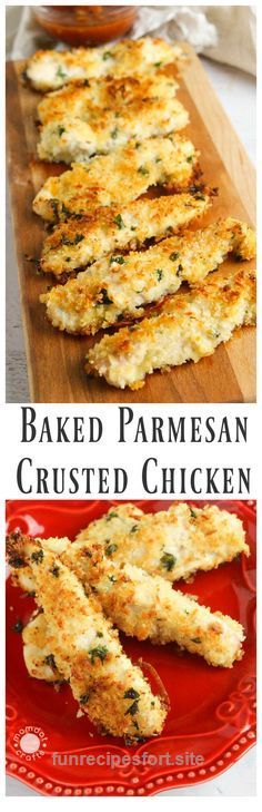 Beautiful Baked Parmesan Crusted Chicken Recipe  The post  Baked Parmesan Crusted Chicken Recipe…  appeared first on  Recipes .