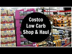 Costco Low Carb Shopping List & Keto Diet Friendly Grocery Food Haul