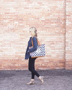 We love how Janet styles our Cindy Tote!