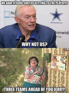 Owner Of The Cowboys Meme Funny Sucks