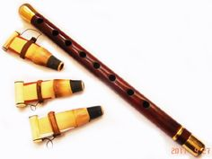 ARMENIAN DUDUK, Doodook , with BRONZE ENFORCEMENT and 3 Reeds , PROFESSIONAL Instrument - Made from Apricot Wood in Armenia - Oboe Mey Nay Zurna Balaban Kaval Flute