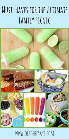 Family Picnic Must-Have ~ The Best Recipes and Products