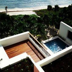 Aerial ocean view | Casa Xixim at Soliman Bay in Tulum, Mexico