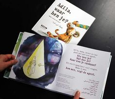 Prentenboek - Picturebook - Adila, waar ben je? - Adila, where are you? About a young refugee girl