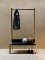 bench with coat rack for public space YAK by Rupert Kopp Moormann Nils Holger